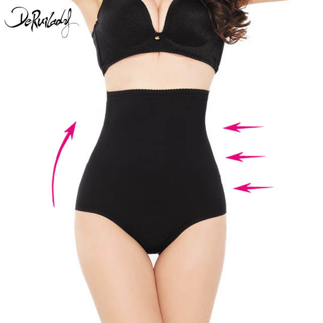 380a955c1bd79 placeholder DeRuiLady Fashion Solid Body Shaper Comfortable Breathable High Waist  Trainer Pants Shapewear Slim Sexy Underpants Bodysuit