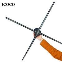ICOCO Professional High Tech м 1 светодио дный М 3D LED голографическая Вентилятор проектора плеер оптовая продажа