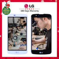 Tested Warranty Original 5 3 Display LG K420N LCD Touch Screen With Frame Digitizer Replacement K10
