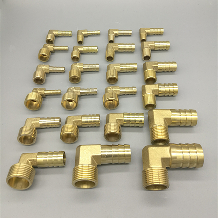 Brass Hose Barb Fitting Elbow 6mm 8mm 10mm 12mm 16mm To <font><b>1/4</b></font> 1/8 1/2 3/8