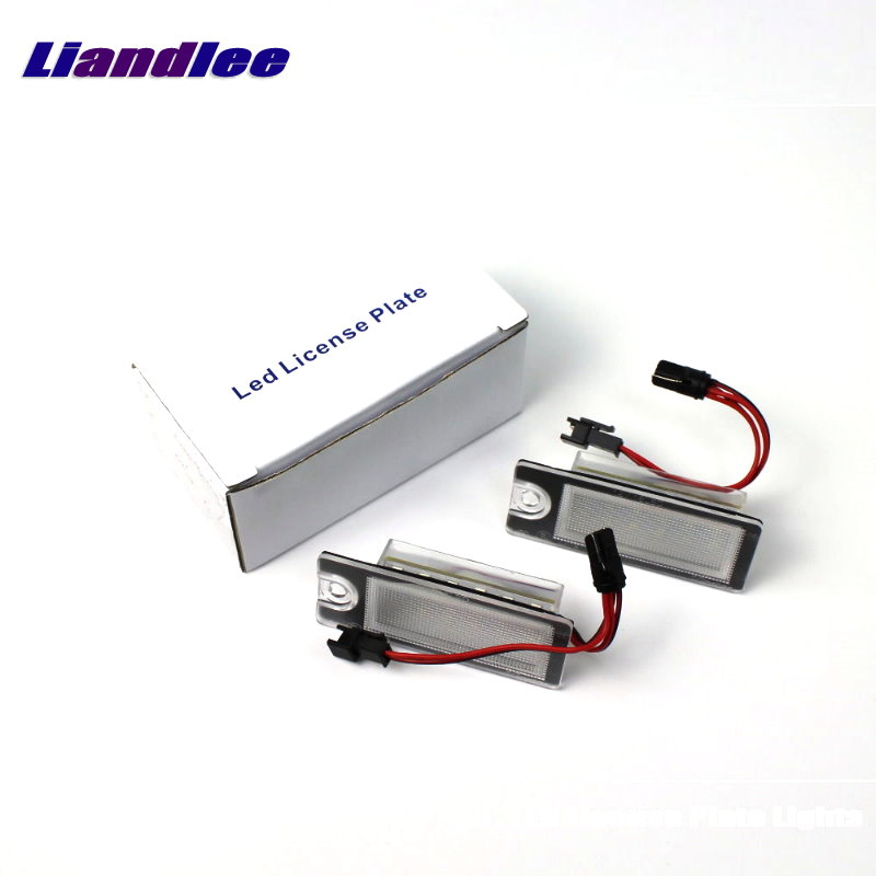 Liandlee For <font><b>Volvo</b></font> XC90 <font><b>XC</b></font> <font><b>90</b></font> 2003~2006 / LED Car License Plate Light / Number Frame Lamp / High Quality LED Lights image