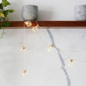 Image 4 - 20 lampen LED Girlande Party Lichter Girlande String Fairy Lichter für Hochzeit Veranstaltungen lichter Garten Party Bar Bistro Beleuchtung Dekor