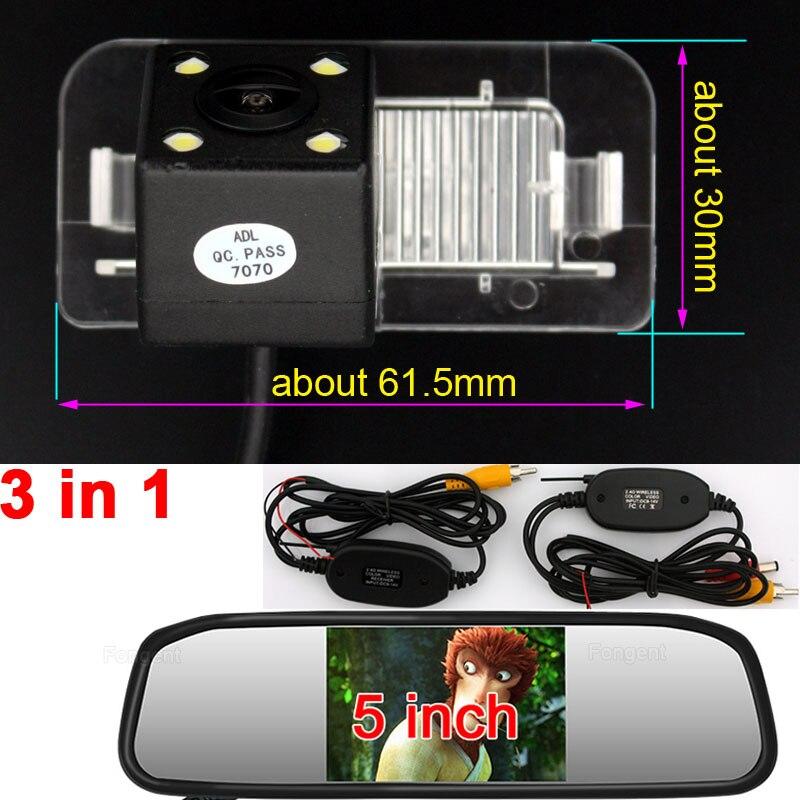 Para Mercedes Benz Classe R R350 R500 ML350 CLS W203 W211 W209 B200 B180 A160 W219 GLS Retrovisor Do Veículo estacionamento reverso Câmera MB