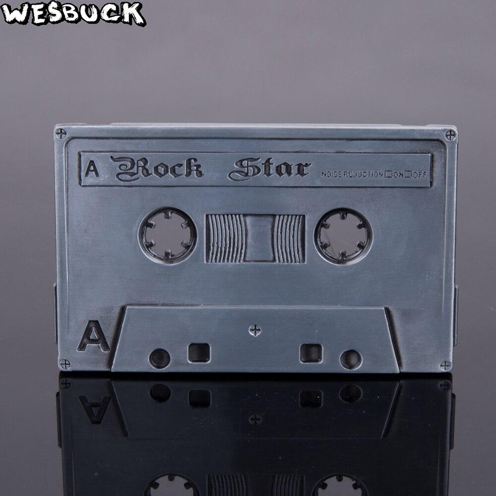 50 pièces MOQ WesBuck marque musique ceinture boucles métal pour homme femmes Rock Star bande gris métal boucles Fivela livraison express gratuite-in Boucles et crochets from Maison & Animalerie    1