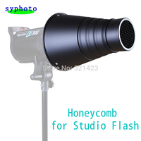 Snoot Honeycomb For Compact Universal Flash Strobe Monolight GY Ect Largest