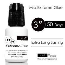 Mia Extreme Strong แต่ละ Eyelash Extension กาวกาวเกรดทางการแพทย์ Quick แห้ง, พันธะที่แข็งแกร่ง. 3 s, 8 สัปดาห์ (50 วัน)