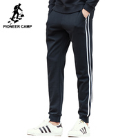 Pioneer Camp Black Sweatpants Men Brand Clothing Top Quality Male Casual Pants Fashion Men Autumn Spring