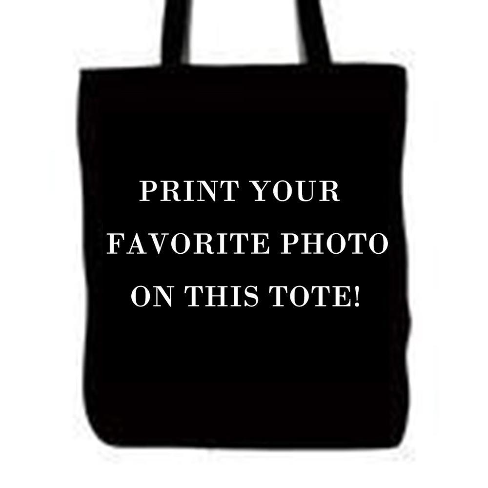 Borong Custom Logo Gambar Photo Pet Dog Tote Bags Double Printed - Beg tangan