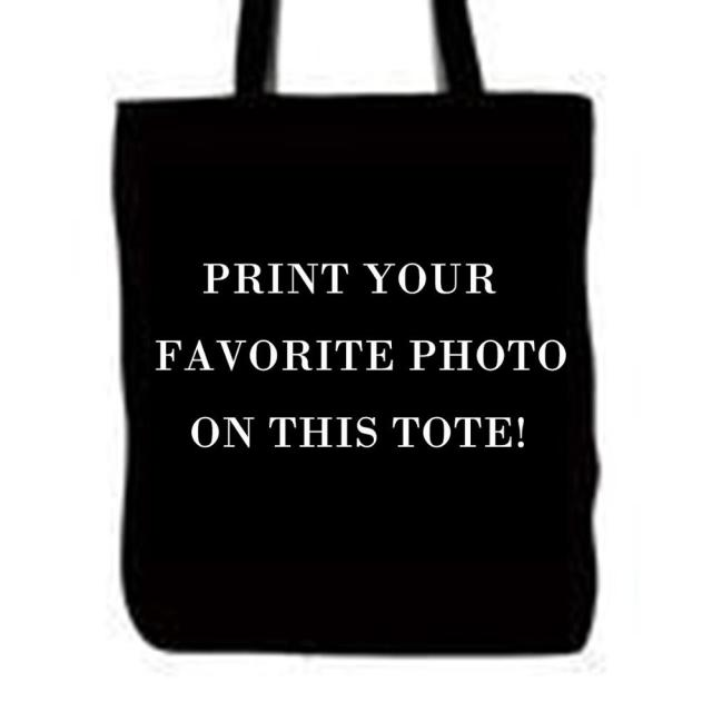 Whole Custom Logo Picture Photo Pet Dog Tote Bags Double Sided Printing Animals Handle Ping Canvas
