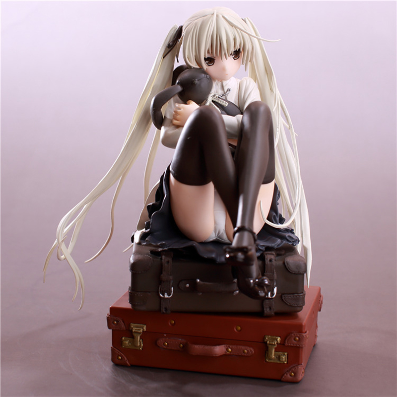 18cm Kasugano Sora PVC Collection Model Anime Hobbies Action Toy Figures Toys For Children Christmas anime sexy figure yosuga no sora kasugano sora sexy china dress ver pvc action figures collectible model toys doll 22cm acaf061