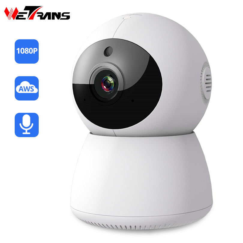 Wetrans IP Wifi Camera Mini 1080P Pan Tilt P2P Wi-fi CCTV Camera Security Smart Home Wireless Surveillance IR vision Audio Cam wetrans wireless camera ip wi fi light bulb hd 3mp led security smart cctv camera panoramic wi fi alarm p2p audio night vision