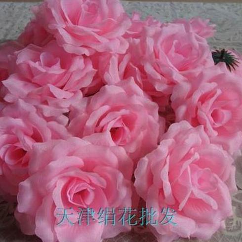 50 шт. искусственная Камелия Роза Пион Свадебные цветы декоративные искусственные цветы несколько цветов - Цвет: pink