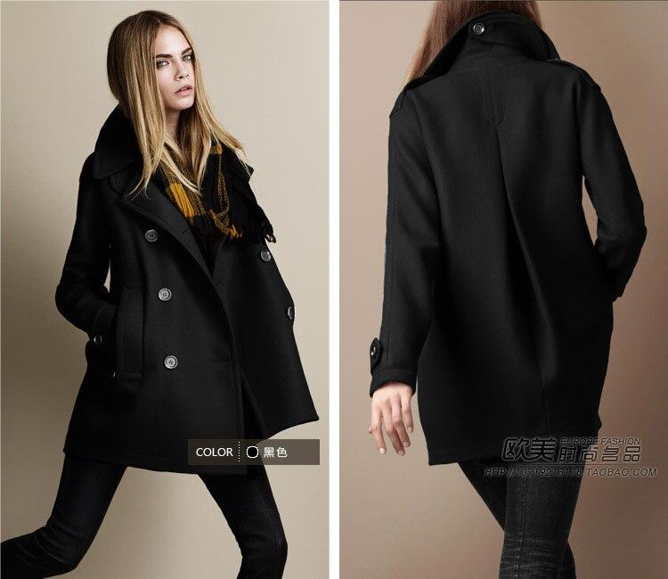 Aliexpress.com : Buy 2017 Autumn Winter Fashion Woolen Coat Female ...