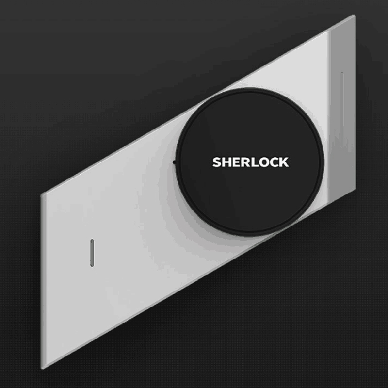 2018 hot sale Sherlock Smart lock S2 mijia Smart door lock Keyless Fingerprint