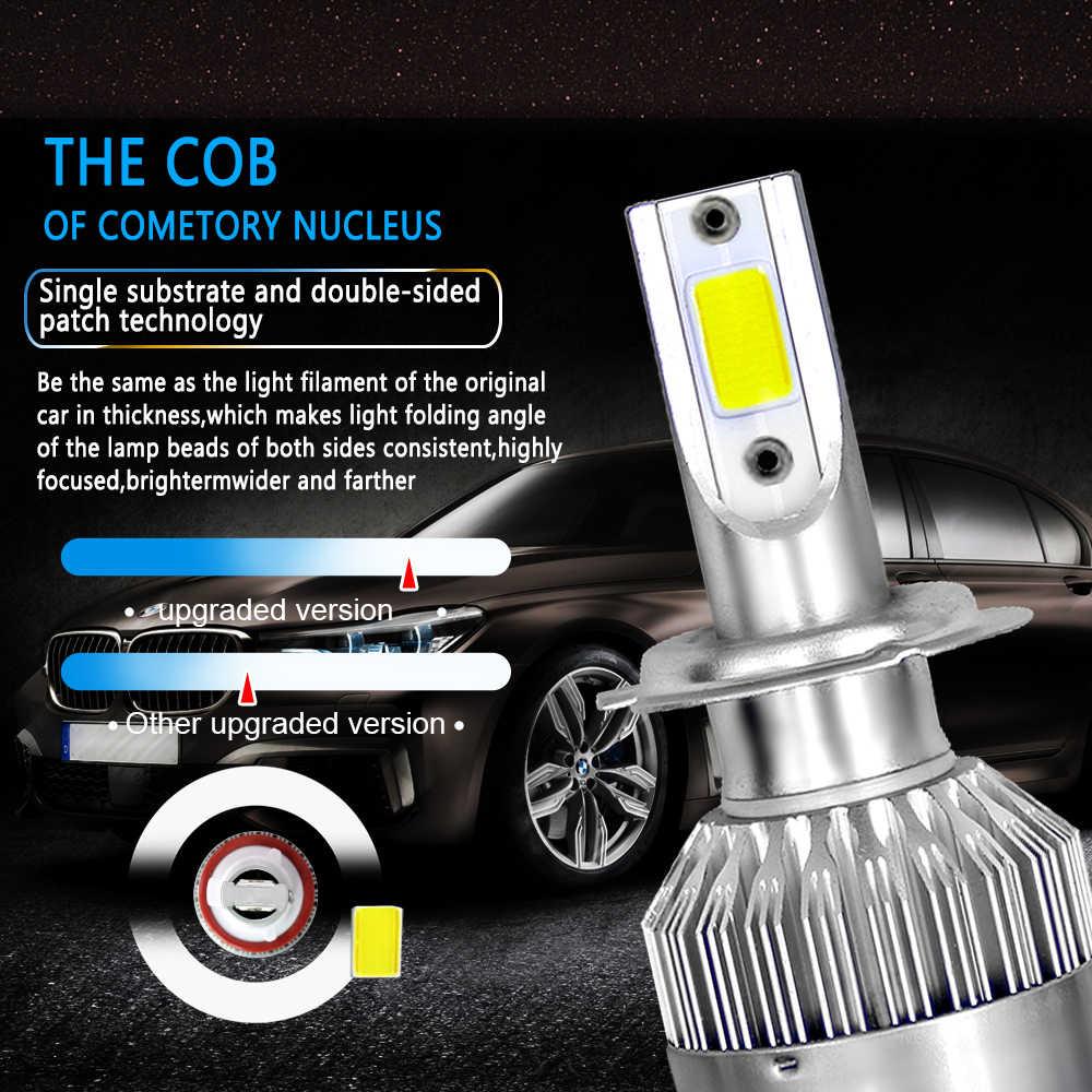 NEW Enhanced 2Pcs Car Lights Bulbs LED H4 H7 9003 HB2 H11 LED H1 H3 H8 H9 880 9005 9006 H13 9004 9007 Auto Headlights Led Lamps