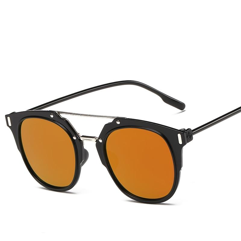 aeb7ffe4e Super barato Dos Homens/Mulheres Do Vintage Óculos Polarizados Óculos de Sol  Gafas Óculos Óculos UV400 lente Reflexivo Colorido óculos de sol em Óculos  de ...