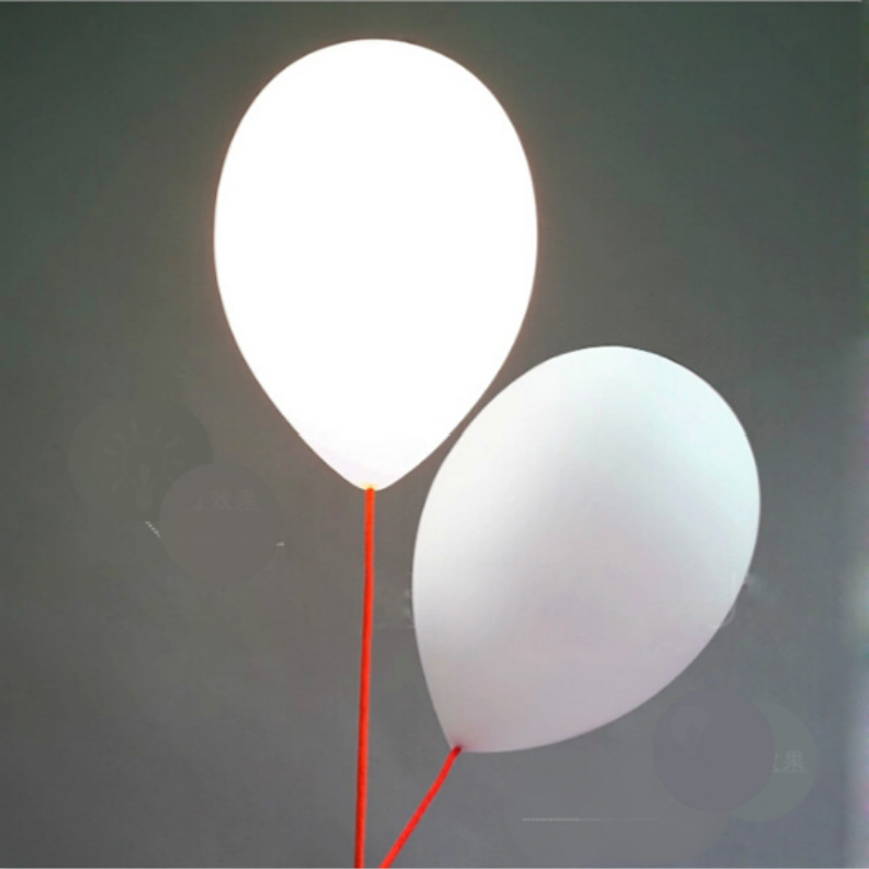 Ingenious Modern Carton Lovely Naive Milk White Glass Ballon Led E27 Ceiling Light For Bedroom Childrens Room Kindergarten 20/25cm 1164 Good Reputation Over The World Lights & Lighting