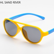 HL SAND RIVER 2018 children sunglasses kids outdoor polarized UV400 manufacturers direct sale.