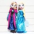 1 Unids 40 CM Princesa Anna Elsa Felpa Suave Juguete de Peluche Muñecas Brinquedos Niños Juguetes de Regalo Para Niñas 2 Estilos seleccionable
