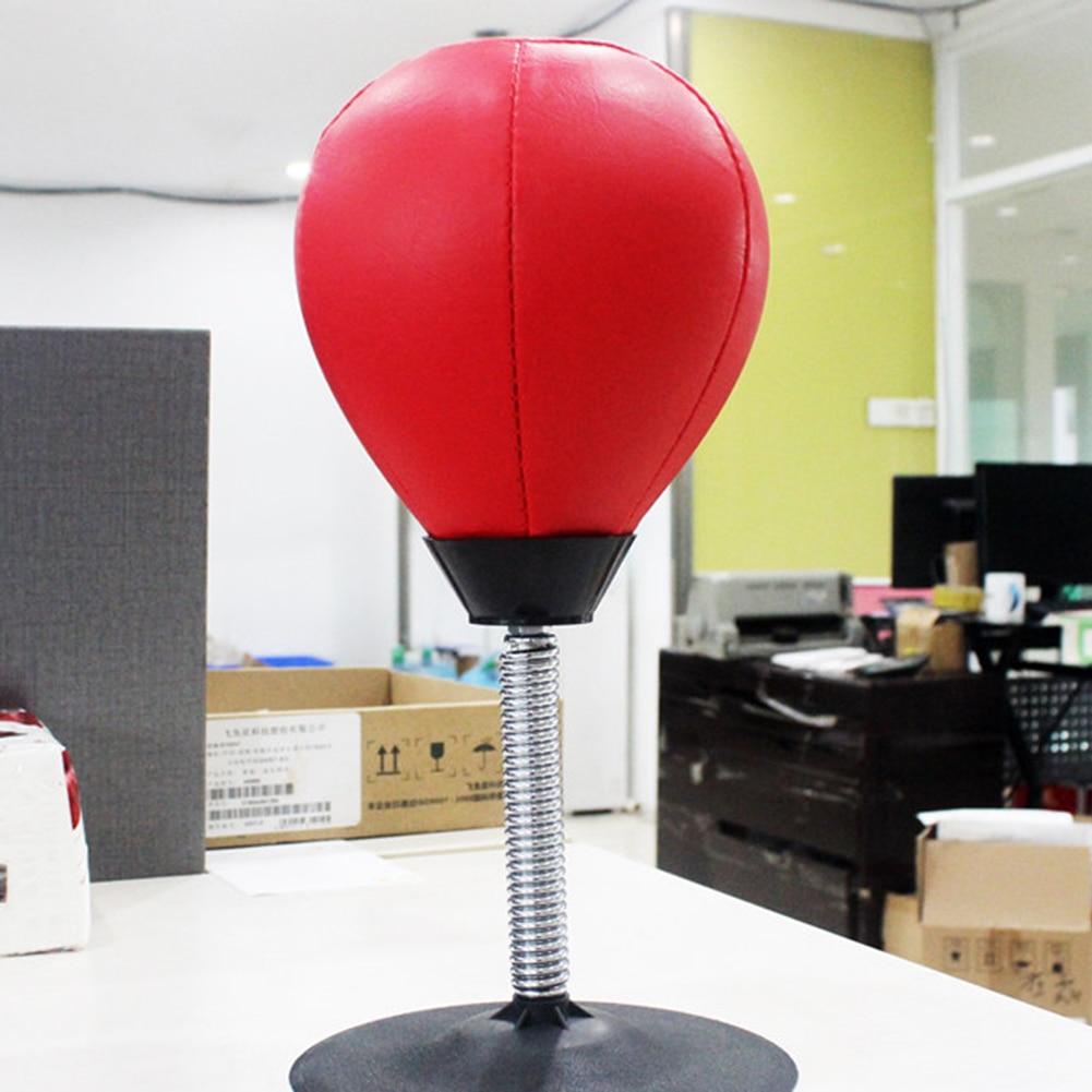 Desktop Punching Ball Suction Freestanding Reflex Speed Ball Boxing Bag Punching Pedestal Ball With Free Inflator Random color 9