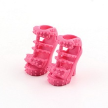 Toys Fashion Colorful Assorted Shoes Different Styles Fashion 12 pairs Cute For Doll Best Gift Girl