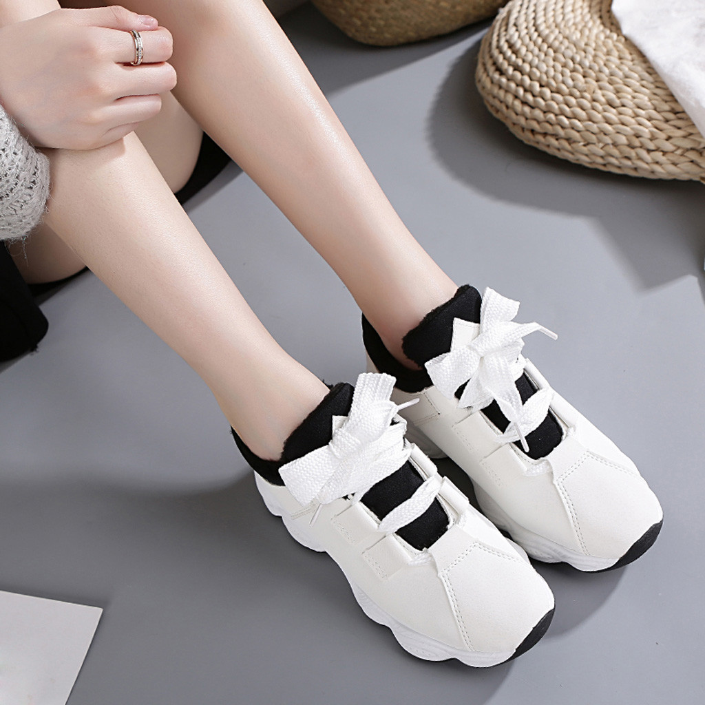 ISHOWTIENDA Soft-Bottom Shoes New Women Breathable Sneakers Outdoor Casual -Gh30