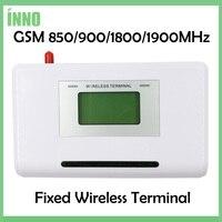 GSM 850/900/1800/1900 MHZ Vaste draadloze terminal met lcd-scherm, ondersteuning alarm systeem, PABX, duidelijke stem, stabiel signaal