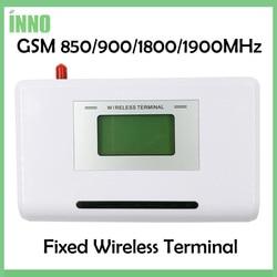 Gsm 850/900/1800/1900 mhz terminal sem fio fixo com display lcd, sistema de alarme de apoio, pabx, voz clara, sinal estável