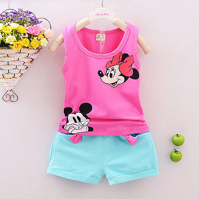 Summer-Cute-Cartoon-2PCS-Kids-Baby-Girls-Floral-Vest-Top-Shorts-Pants-Set-Clothes-Girls-Clothing-Sets-5