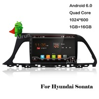 ROM 16 Gam 1024*600 Quad Core Android 5.1.1 Fit Hyundai SONATA LF 2015 DVD Navigation GPS TV 3 Gam Đài Phát Thanh