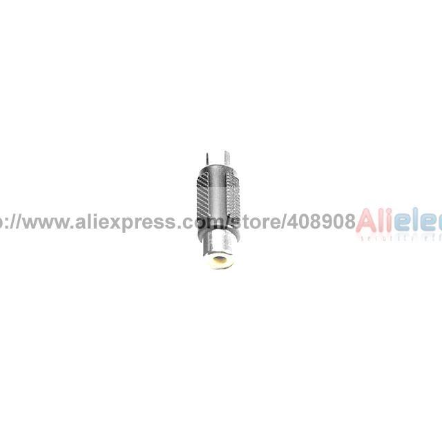 100pcs Female to Female Black RCA AV Coupler Joiner BP high qualitygold plated f f 1 rca av joiner coupler adapter