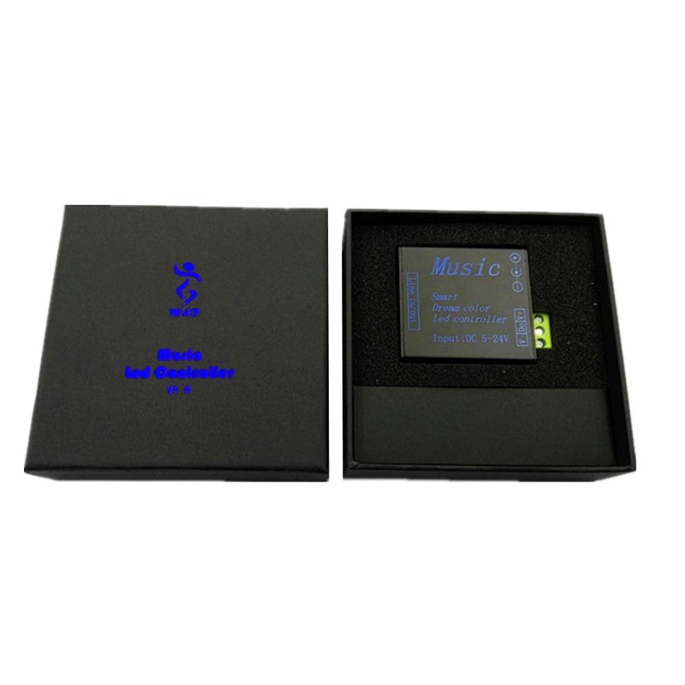 Kontrolluesi muzikor LED DC5V-24V alumini SPI RGB Ngjyra e - Aksesorë ndriçimi - Foto 2
