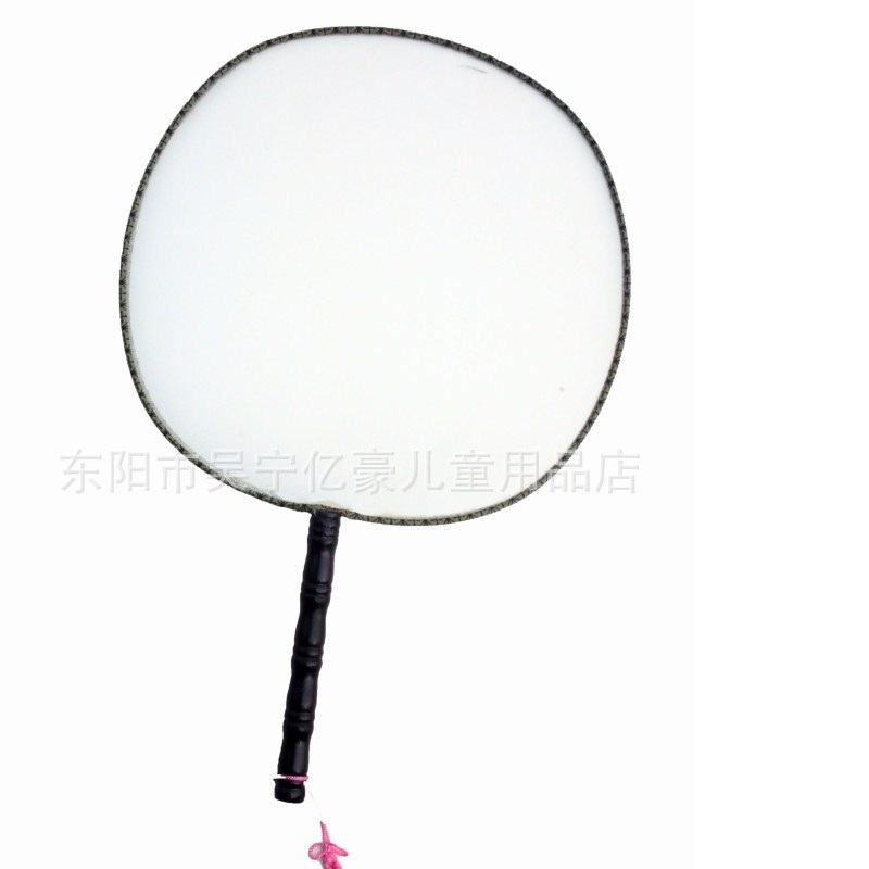 hand fan drawing. aliexpress.com : buy diy sketchers chinese art round fan baby blank drawing silk fans kids hand painted materials puzzle toys children dancing props from