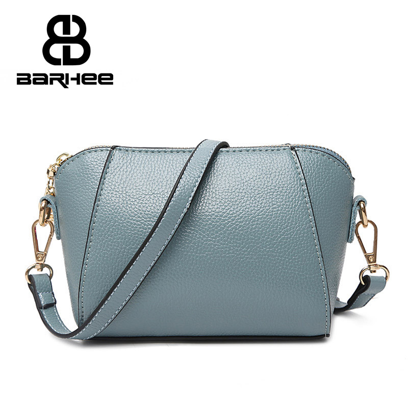 2017 Women Sling Bag Shell Handbag for Girls Leather Messenger Bags Ladies Hand Bags pochette Shoulder Bag bolsas Pouch Satchel