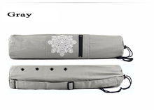 68 x 15cm Canvas Practical Yoga Pilates Mat Carry Strap Drawstring Bag for 6mm Yoga Mat