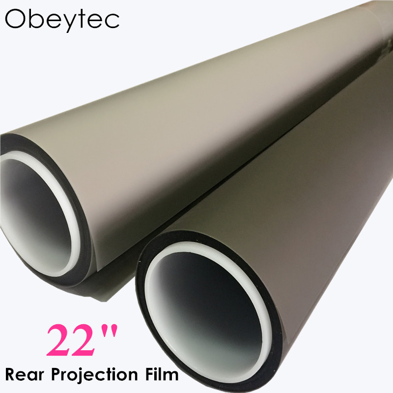 Obeytec 22   Holographic Projection Screen Rear Projection Film Dark Transparent White grey colorObeytec 22   Holographic Projection Screen Rear Projection Film Dark Transparent White grey color