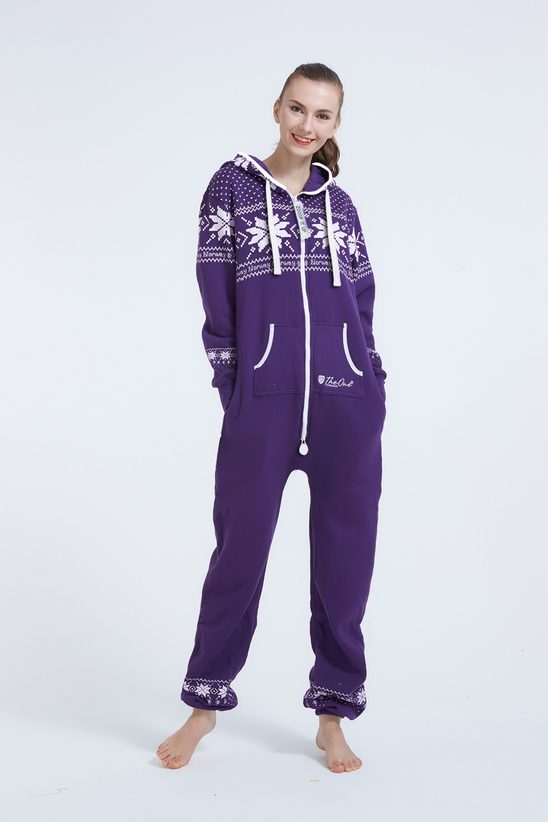 Piece Of Norway One Piece Jumpsuit Unisex Playsuit Nordic Way Fashion Romper Adult Onesies