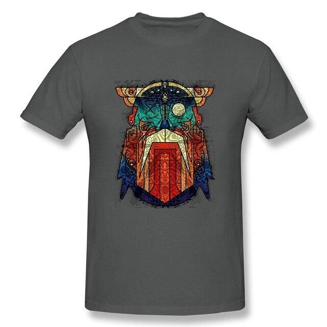 Geometric Modern Odin Vikings T Shirt Big Size Short Sleeve Tshirt Men 2017 New Geek Cotton Funny T-shirts 2