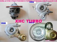 NEW Cartrige of CT26 17201 17010 17030 68010 Turbocharger for TOYOTA Landcruiser TD 1HD-T 4.2L 204HP 12H-T 4.0L 136HP