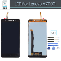 100 Guarantee Phone LCD Screen For Lenovo A7000 LCD Screen Display Touch Screen Digitizer Assembly Free