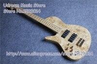Лидер продаж природа древесины Dead Grain отделка Suneye электрический бас гитары 4 Строка бас гитара для левши Бесплатная доставка