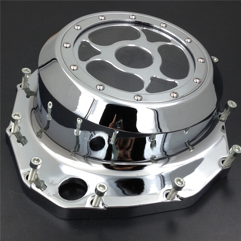 Aftermarket free shipping motorcycle parts  See through Engine Clutch Cover For Suzuki  GSX1300R Hayabusa B-king 1999-2013 CDAftermarket free shipping motorcycle parts  See through Engine Clutch Cover For Suzuki  GSX1300R Hayabusa B-king 1999-2013 CD