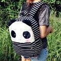Presente para o bebê 1 pc 40 cm dos desenhos animados listra panda tímido engraçado plush mochilas estudantes universitários bolsa de ombro Satchel crianças brinquedo