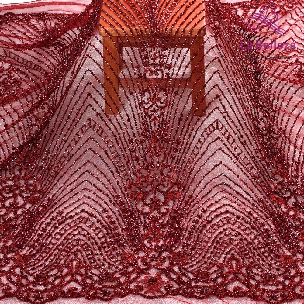 라 belleza 1 야드 와인 페르시 레이스 원단, 패션 스타일 레이스, 저녁/웨딩 드레스 수제 페르시 레이스 원단 51 ''너비-에서직물부터 홈 & 가든 의  그룹 1