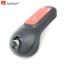 Junsun Car Video Recorder DVR Cámara Inalámbrica WiFi APP Manipulación FHD 1080 p Novatek 96655 dvr Dash Cam Registrator
