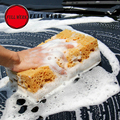 WERK Grande tamanho COMPLETO 2 pcs Preço Mais Barato máquina de Lavar Lavagem Bloco Esponja para Carro & Limpeza Do Carro 21*11*9