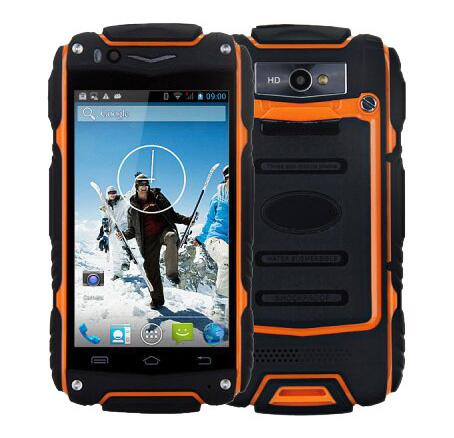 """Original Discovery  V8 Waterproof  MoBile Cell Phone 4.0"""" IPS MTK6572 Dual Core 512MB RAM 4GB ROM Android 4.4 Dual Sim GPS WCDMA"""