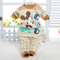 Baby Clothes Baby Sets 2014 Winter Underwear Sets Baby Sleepwear Cotton Pyjamas Baby Girls Boys Clothing