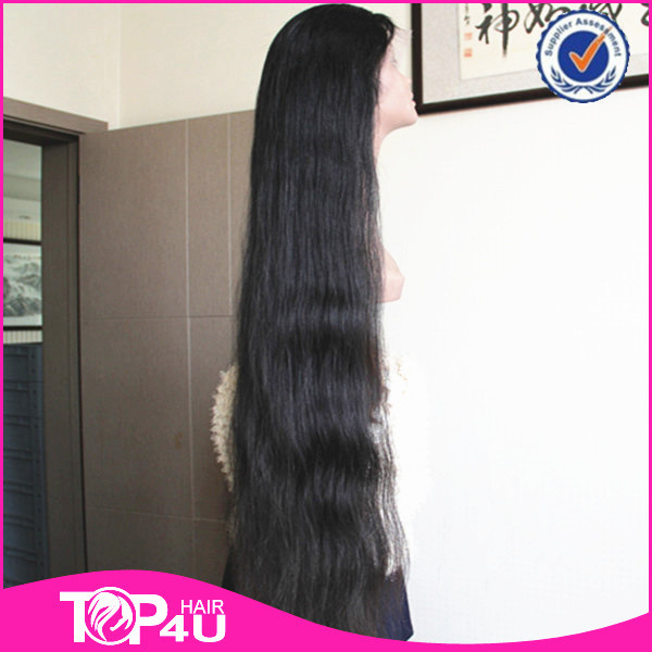 Wholesale 2014 7a Grade No Tange Full Cuticle 40inch Remy Brazilian
