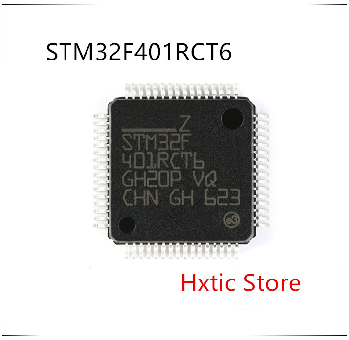 10PCS/lot STM32F401RCT6 STM32F401 QFP-64 IC Chip New Original